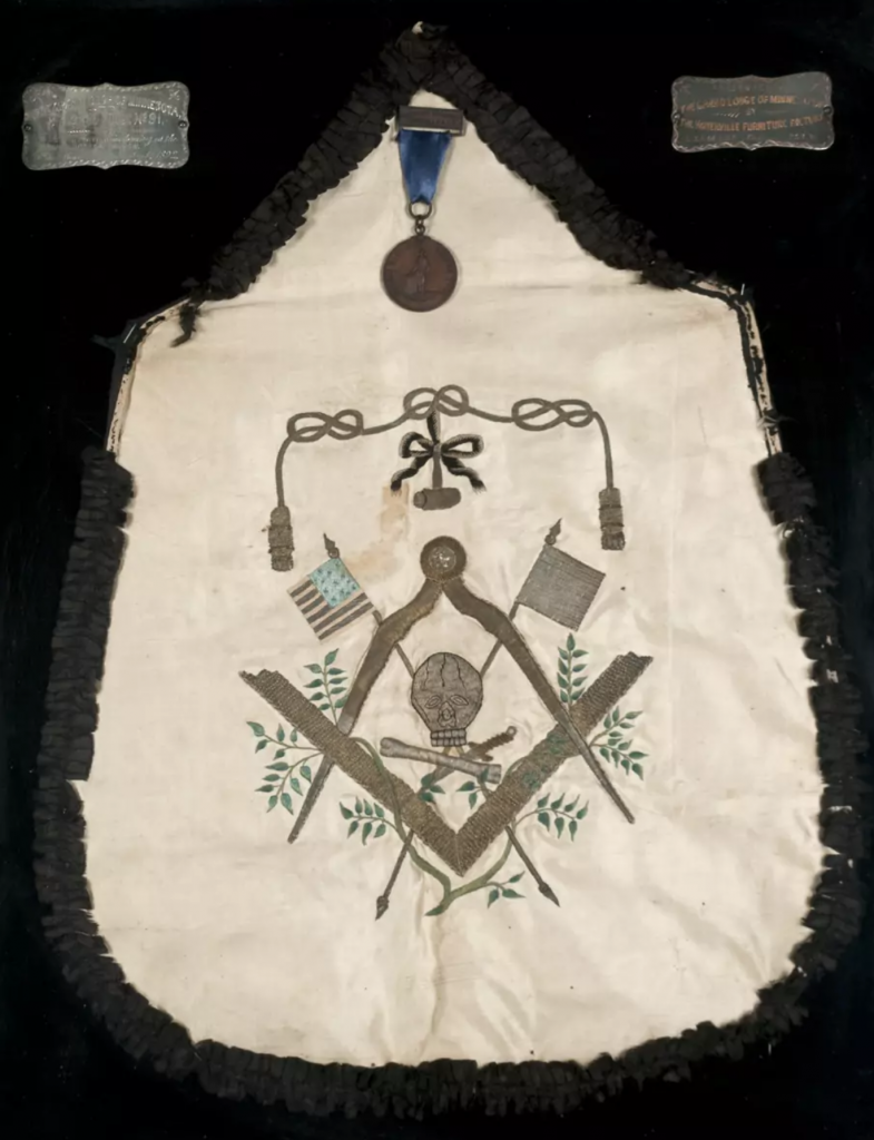 George Washington's Masonic Apron from France